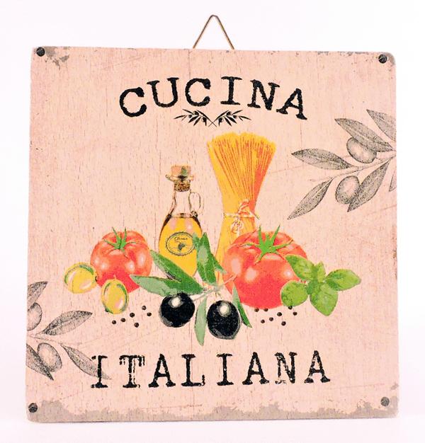 Servietna tehnika - italijanska kuhinja