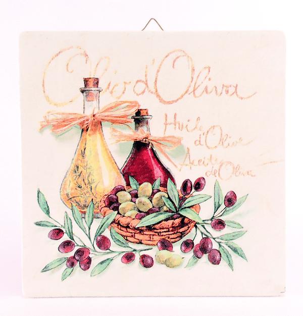 Servietna tehnika - olive in olivno