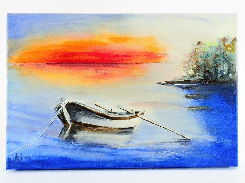 Slika - Čolniček