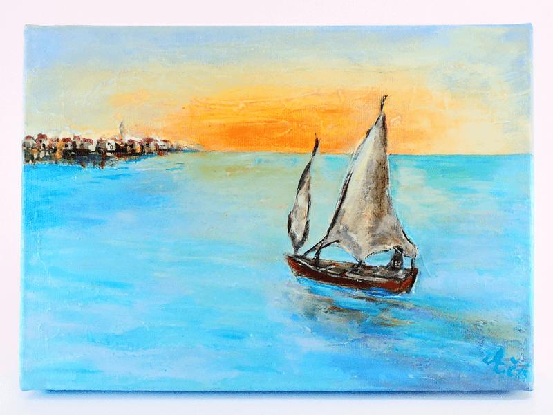 Slika - Morje jadrnica