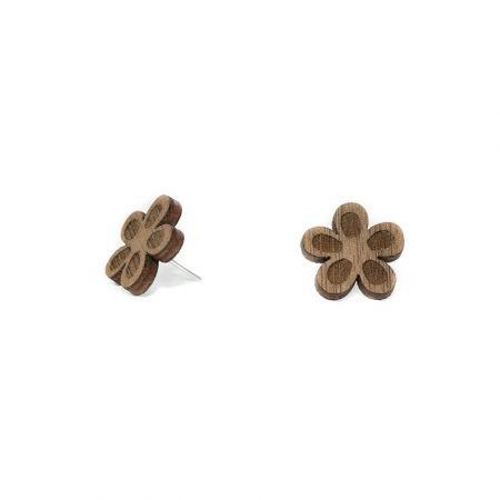 leseni-uhani-stud-flower